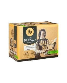 Balzac's Coffee Roasters Balzac's Blend K-Cup Pods, 24 count
