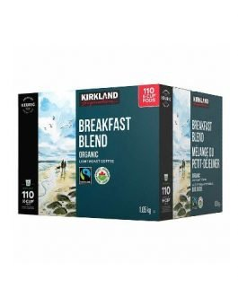 Kirkland Breakfast Blend K-Cup, Pods, 110 count