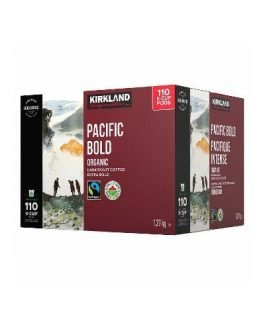 Kirkland Signature Pacific Bold K-Cup Pods, 110 count