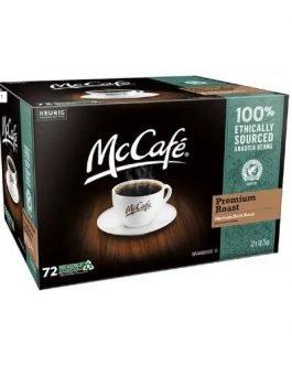 McCafe Premium Roast Coffee K-Cup Pods, 72 count