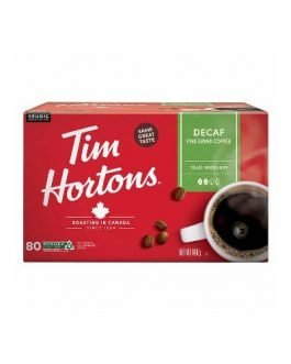 Tim Hortons Decaf K-Cup Pods, 80 count