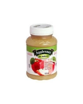 Applesnax Unsweetened Apple Sauce, 6 × 650 mL