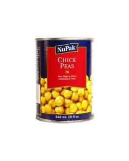Nupak Chickpeas 12 × 540 mL