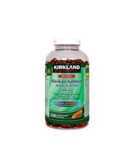 Kirkland Signature 100% Wild Alaskan Salmon Whole Fish Oil