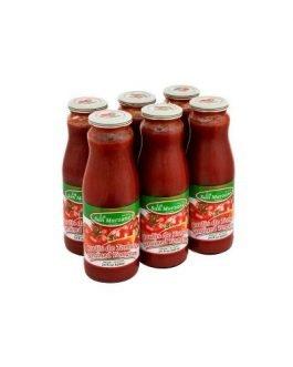La San Marzano Passata Strained Tomatoes 6 x 680 ml