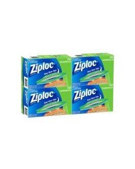 Ziploc Easy Open Sandwich Bags 4 x 150