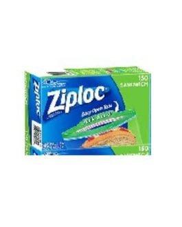 Ziploc Easy Open Sandwich Bags 150 bags